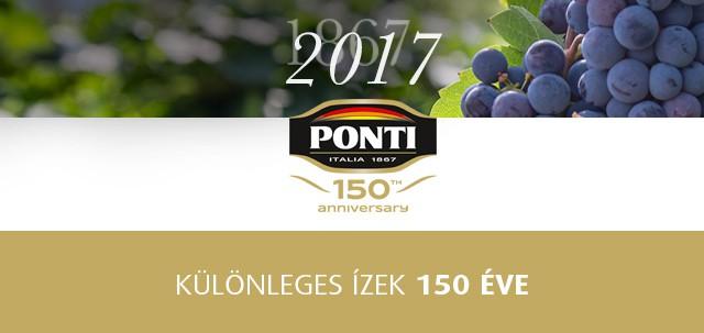 Ponti 150 anniversary