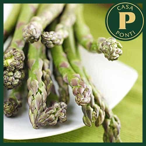 Bianco di rombo con asparagi all'Aceto Balsamico di Modena IGP Ponti