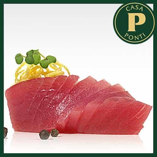 Fagottini di tonno marinato all'Aceto Balsamico di Modena IGP Ponti e orzo