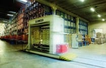 The new automated warehouses, opened in Ghemme