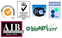 Ponti international certifications