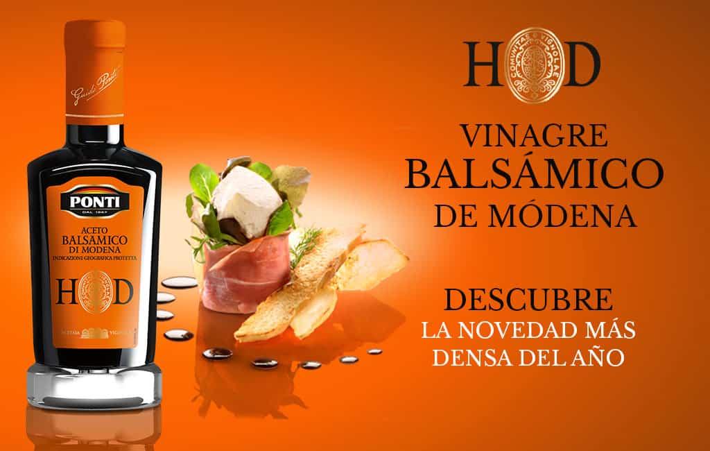 Vinagre Balsámico de Módena Ponti HD
