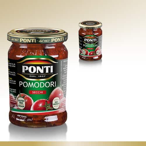 Verduras en aceite Ponti