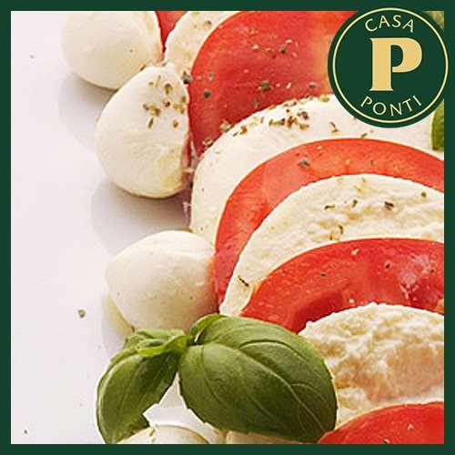 Caprese (paradicsomos-mozzarella) saláta