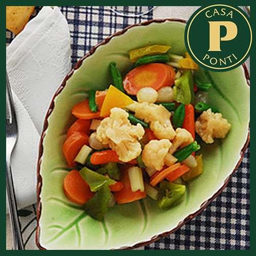 Zöldségek Ponti modenai balzsamecettel