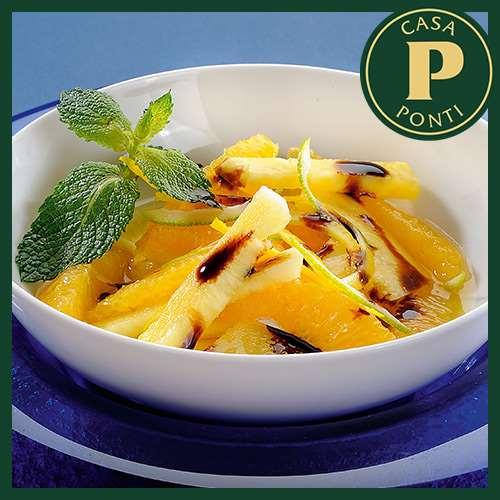 Ananász és narancs nádcukorral