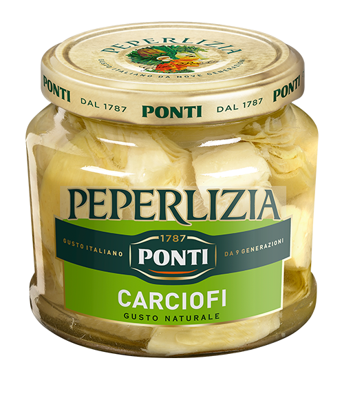 Peperlizia Sweet & Sour Sliced Artichokes - Ponti