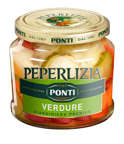 Peperlizia Sweet & Sour Mixed Vegetables - Ponti