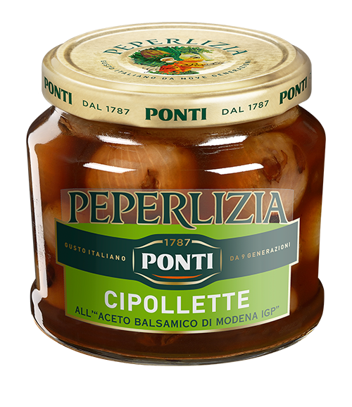 Peperlizia Borettane Onions with Balsamic Vinegar of Modena P.G.I. - Ponti