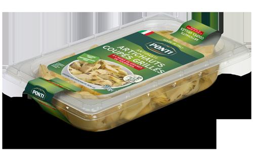 Artichauts coupès grillés - Ponti