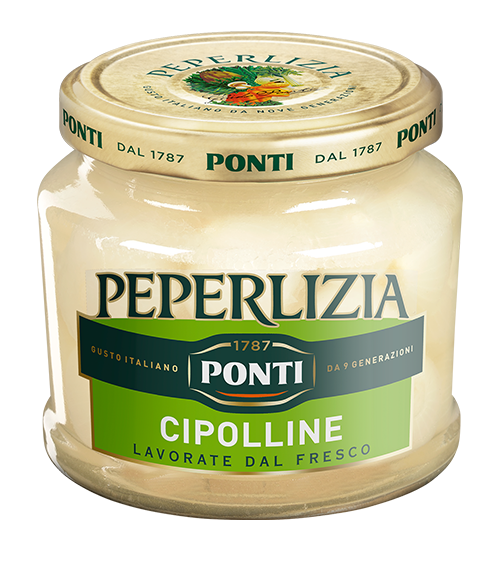 Peperlizia Sweet & Sour Onions - Ponti