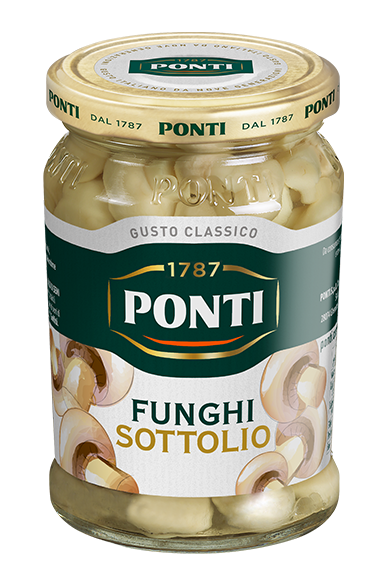 Mushrooms in oil - Ponti