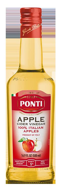 Apple Cider Vinegar - 100% Italian Apples - Ponti