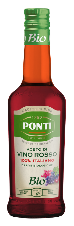 Organic Red Wine Vinegar 100% Italian - Ponti