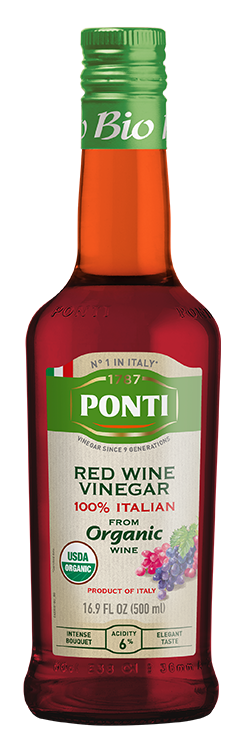 Organic 100% Italian Red Wine Vinegar - Ponti