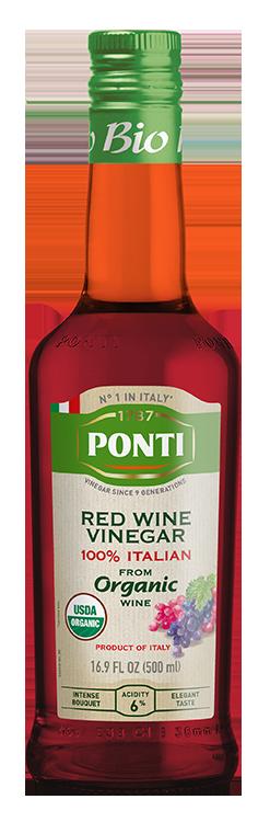 Organic 100% Italian Red Wine Vinegar - Ponti
