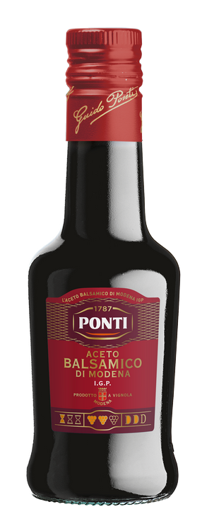 Aceto Balsamico di Modena I.G.P. Etichetta Rossa - Ponti
