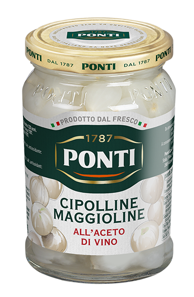 Cipolline maggioline all'Aceto di Vino - Ponti