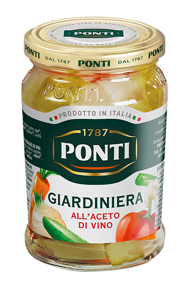 Garden Vegetables in wine vinegar - Ponti