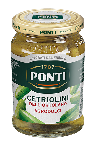 Sweet and sour Garden Gherkins - Ponti
