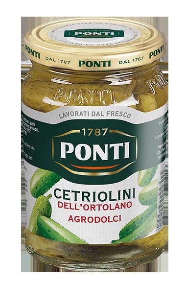 Cetriolini dell'Ortolano Agrodolci - Ponti