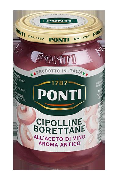 Borettane Onions in Aroma Antico Wine Vinegar - Ponti
