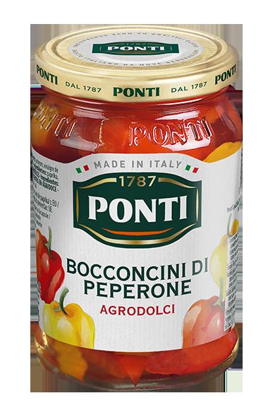 Bocconcini di Peperone in agrodolce - Ponti