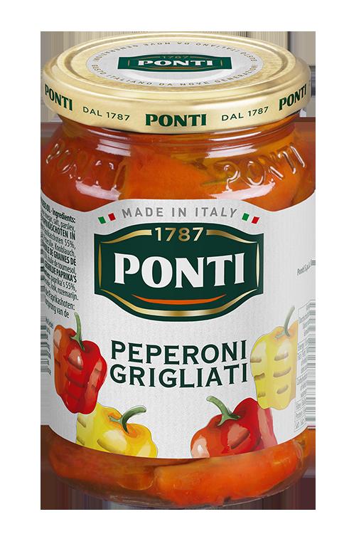 Poivrons grillés - Ponti