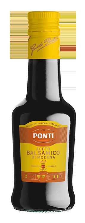 Aceto Balsamico di Modena I.G.P. Etichetta Gialla - Ponti