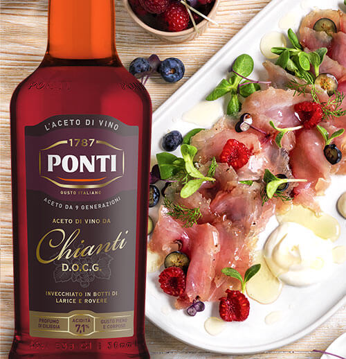The Italians' vinegar.