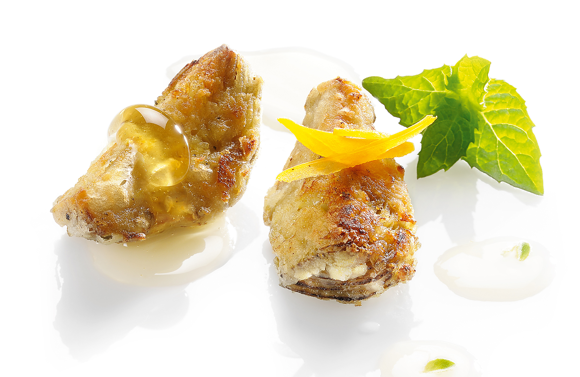 Pepper and Lemon Zero Olio Artichokes fried with honey and Organic White Wine Vinegar 100% Italian - Ponti