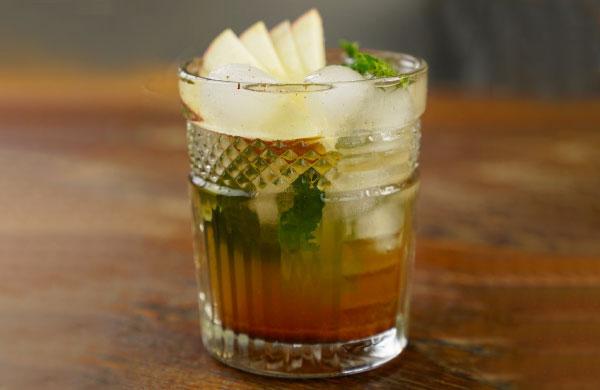 Cocktail energizzante con Aceto di Mele Biologico Non Filtrato Ponti - Ponti
