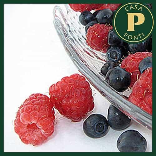 Frutti di bosco all'Aceto Balsamico di Modena IGP Ponti