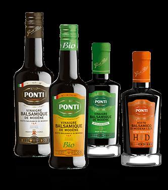 Vinaigres Balsamiques de Modène I.G.P. Ponti