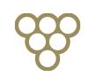 Aceto Balsamico di Modena I.G.P. Etichetta Bordeaux - Ponti