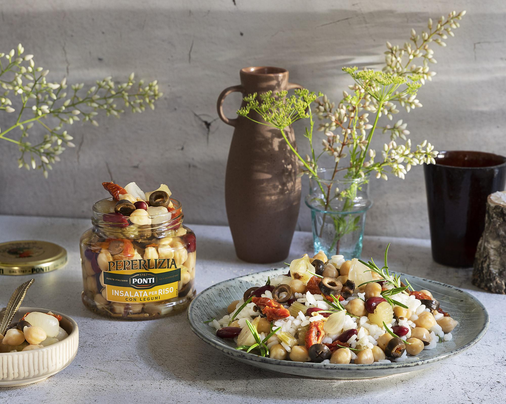 Insalata di riso e legumi - Ponti