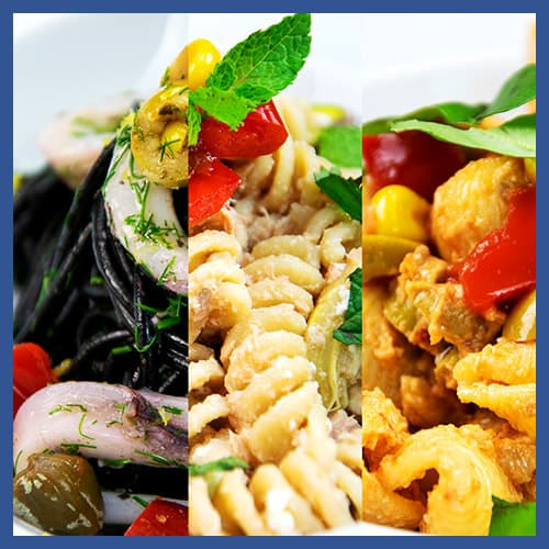 Insalata di pasta Three Ways