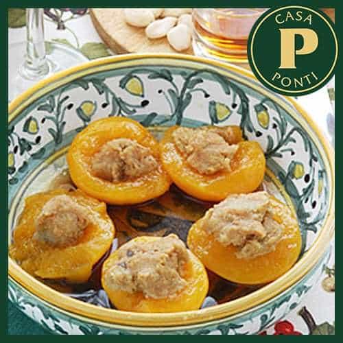 Pesche al forno all'Aceto Balsamico di Modena IGP Ponti