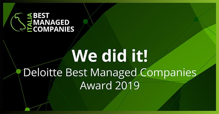 Ponti wins the prestigious Deloitte Best Managed Companies Award 2019